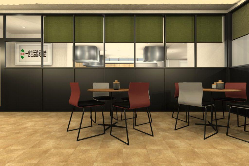 料理教室エントランス④