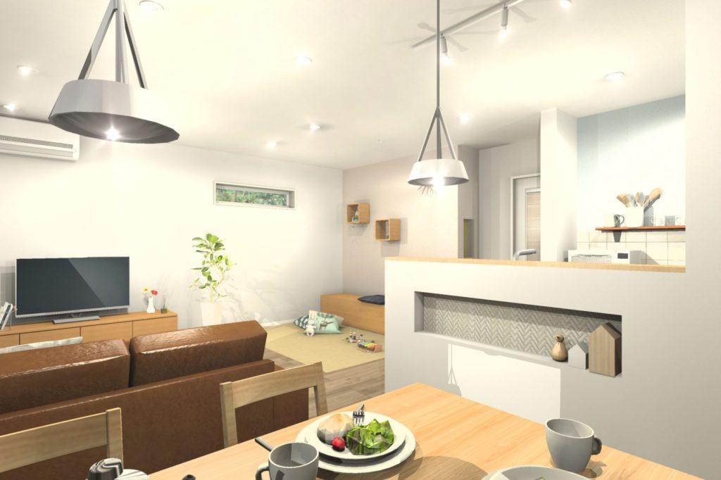 新築住宅トータルコーディネート 北欧テイストスタイル