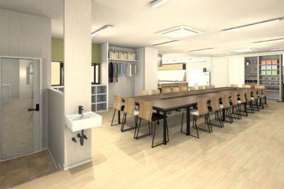 事務所を料理教室と会議室にリフォーム 会議室① 決定プラン