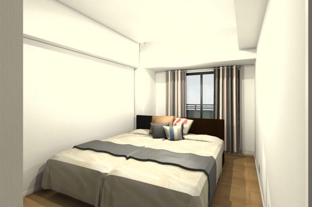 マンションリフォーム 寝室